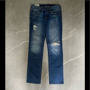2 for$40 Abercrombie Kids, stitched distressing